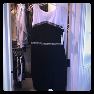 Black and white dress- never worn